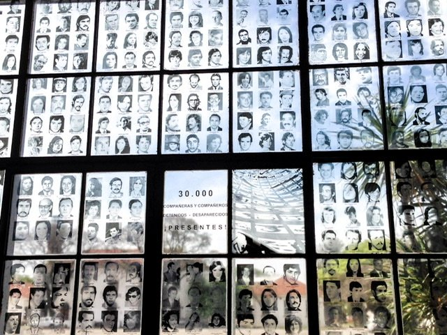 Faces of some of the disappeared at ESMA